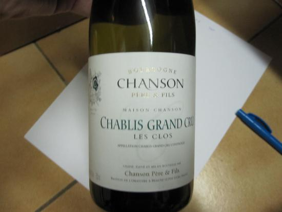 Chablis Grand Cru Les Clos