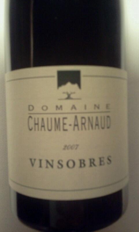Côtes-du-Rhône-Villages Vinsobres
