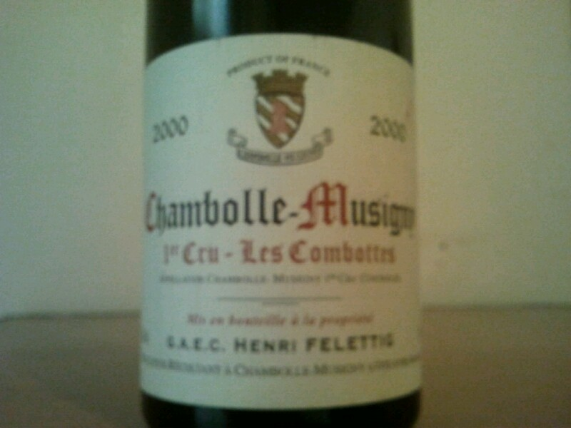 Chambolle-Musigny Premier Cru Aux Combottes