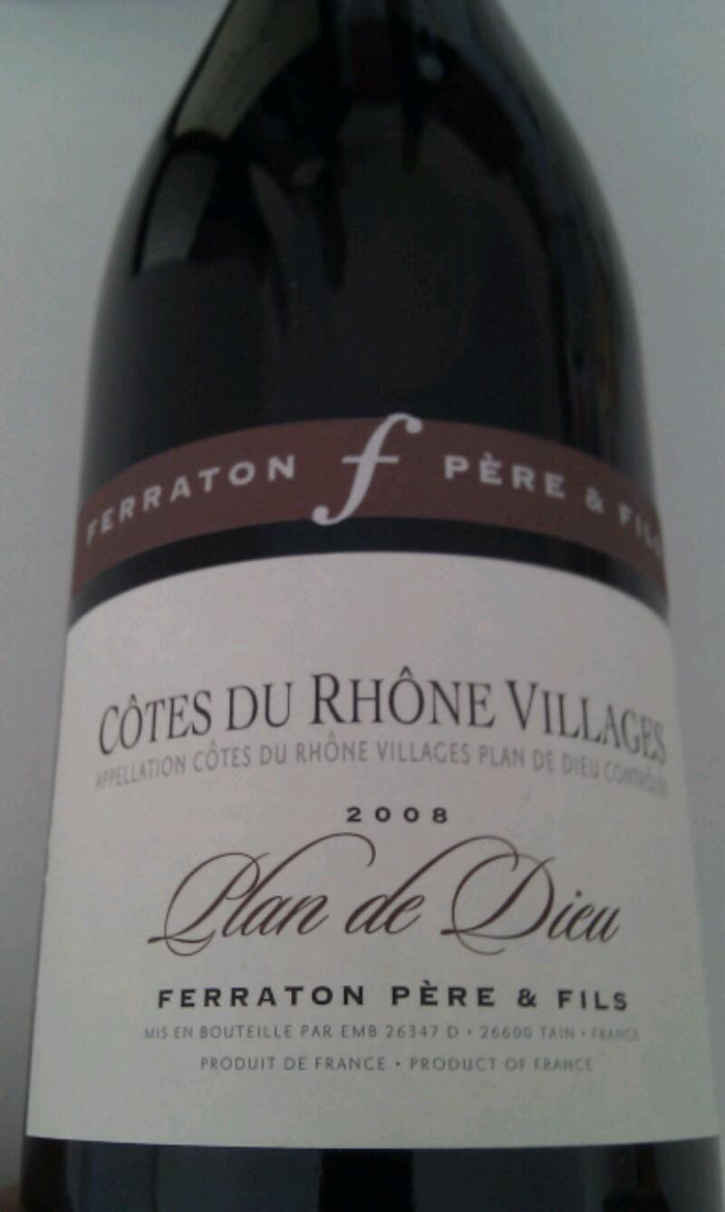 Côtes-du-Rhône-Villages Plan-de-Dieu