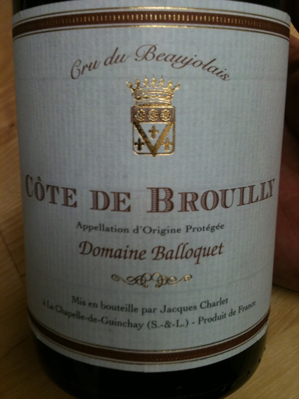 Côte de Brouilly