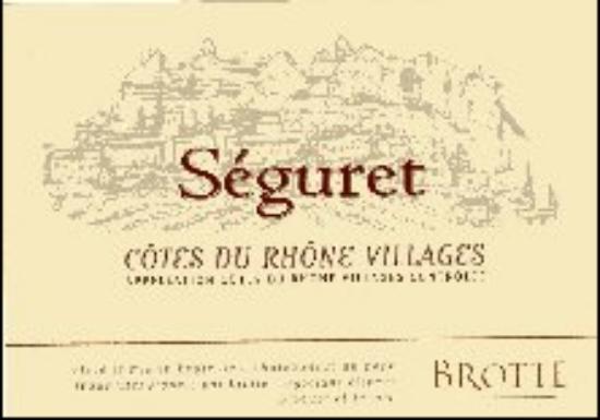 Côtes-du-Rhône-Villages Séguret