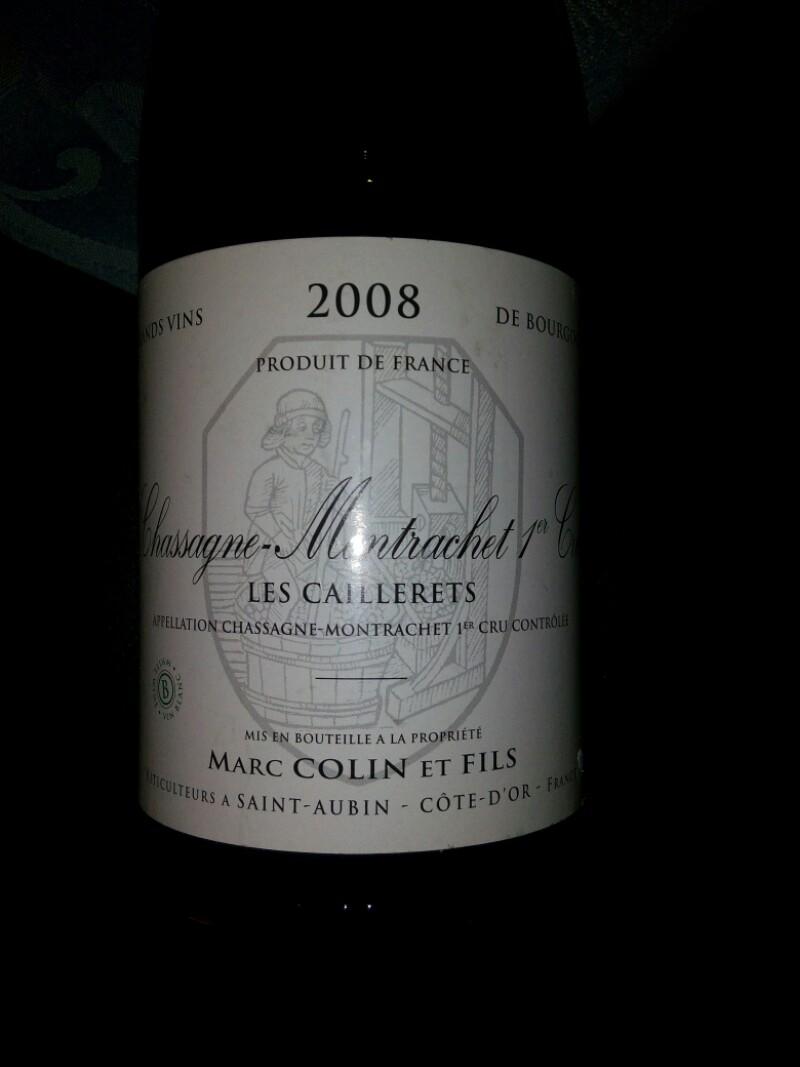 Chassagne-Montrachet Premier Cru les Caillerets