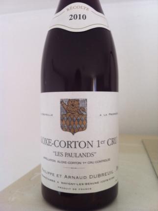 Aloxe-Corton Premier Cru Les Paulands