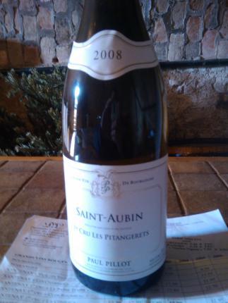 Saint-Aubin Premier Cru  Pitangeret