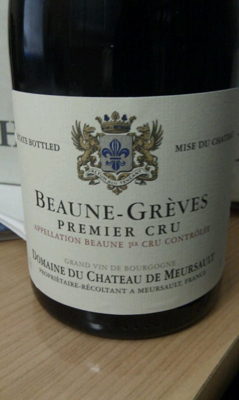 Beaune Premier Cru Les Greves