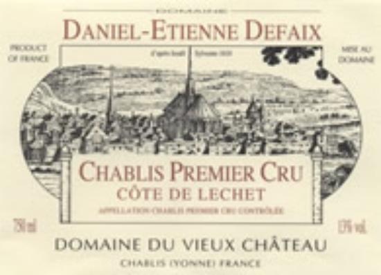 Chablis Premier Cru Côte de Lechet