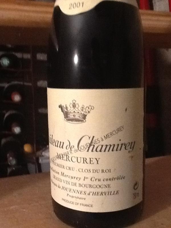 Mercurey Premier Cru  Le Clos du Roy