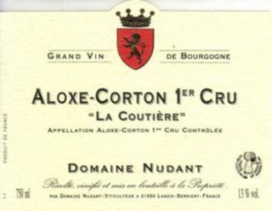 Aloxe-Corton Premier Cru La Coutière