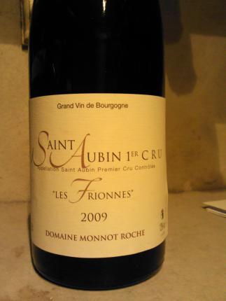 Saint-Aubin Premier Cru  Les Frionnes