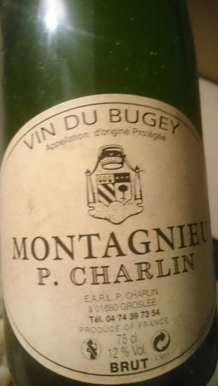 Vin du Bugey Montagnieu