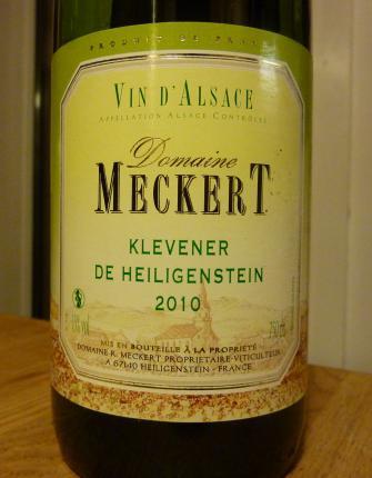 Alsace Klevener de Heiligenstein