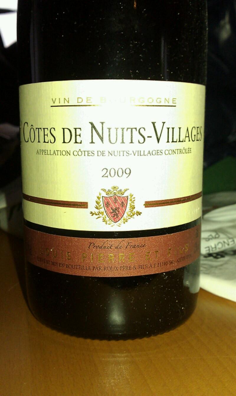 Côte-de-Nuits-Villages