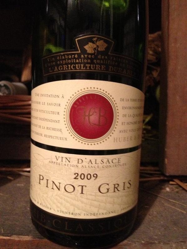 Alsace Pinot Gris