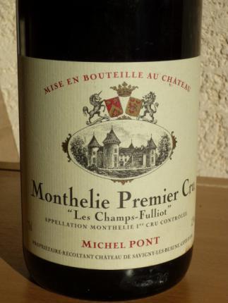 Monthelie Premier Cru  Les Champs Fulliots