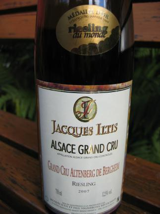 Alsace Grand Cru Altenberg de Bergheim