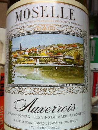 Vin de pays de Moselle
