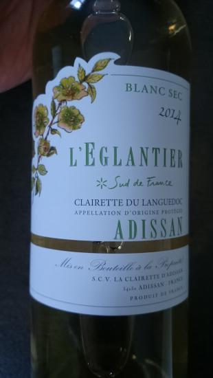 Clairette du Languedoc Adissan
