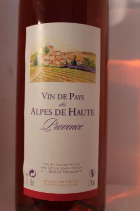 Vin de pays des Alpes-de-Haute-Provence