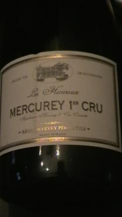 Mercurey Premier Cru