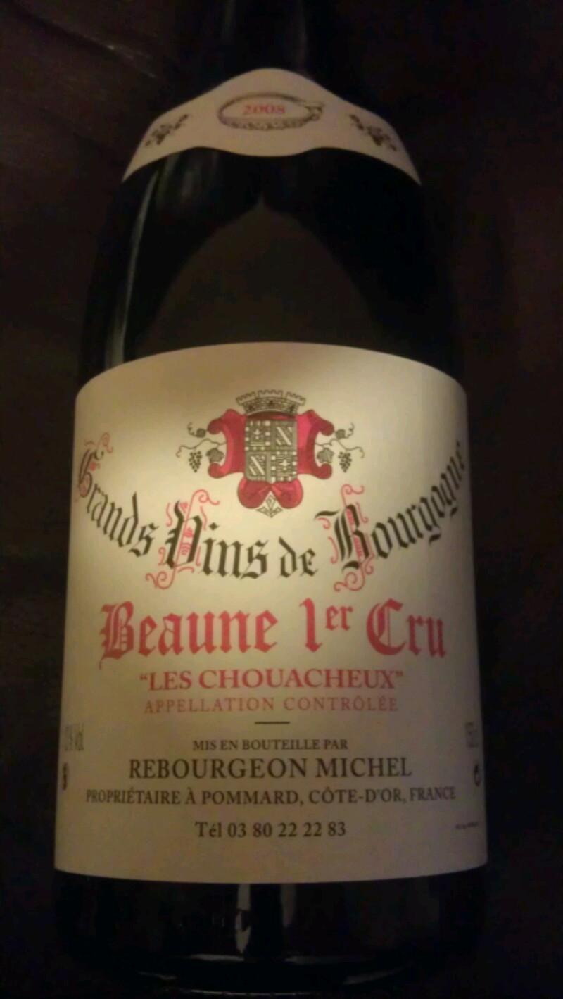 Beaune Premier Cru Les Chouacheux