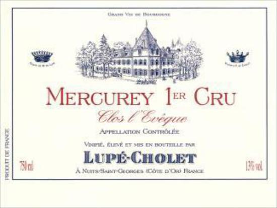 Mercurey Premier Cru  Le Clos L'Evêque