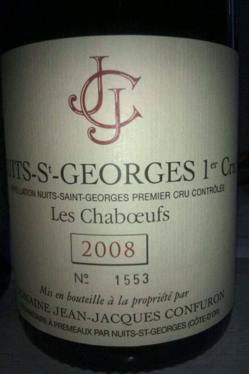 Nuits-Saint-Georges Premier Cru  Les Chaboeufs