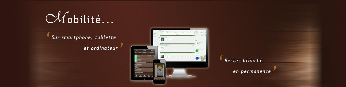 Application complète pour smartphones et ordinateurs