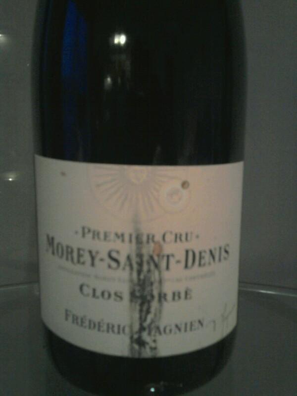 Morey Saint-Denis Premier Cru