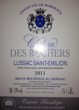 Lussac Saint-Emilion