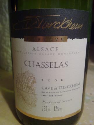 Alsace Chasselas (ou Gutedel)