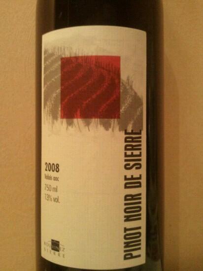 Pinot Noir de Sierre