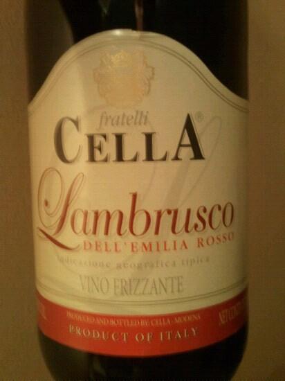 Lambrusco Dell' Emilia