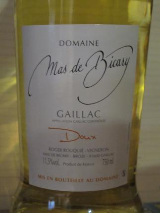 Gaillac Doux