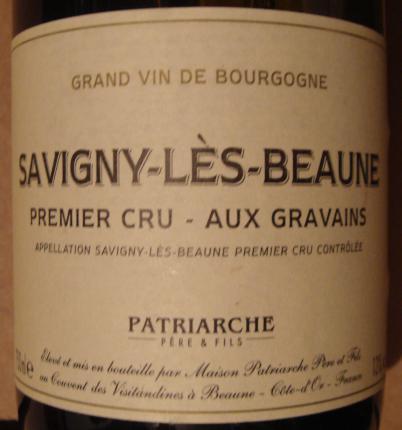 Savigny-lès-Beaune Premier Cru  Aux Gravains