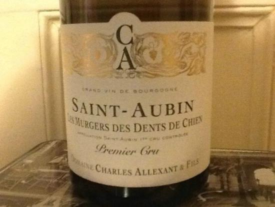 Saint-Aubin Premier Cru  Les Murgers des Dents de Chien