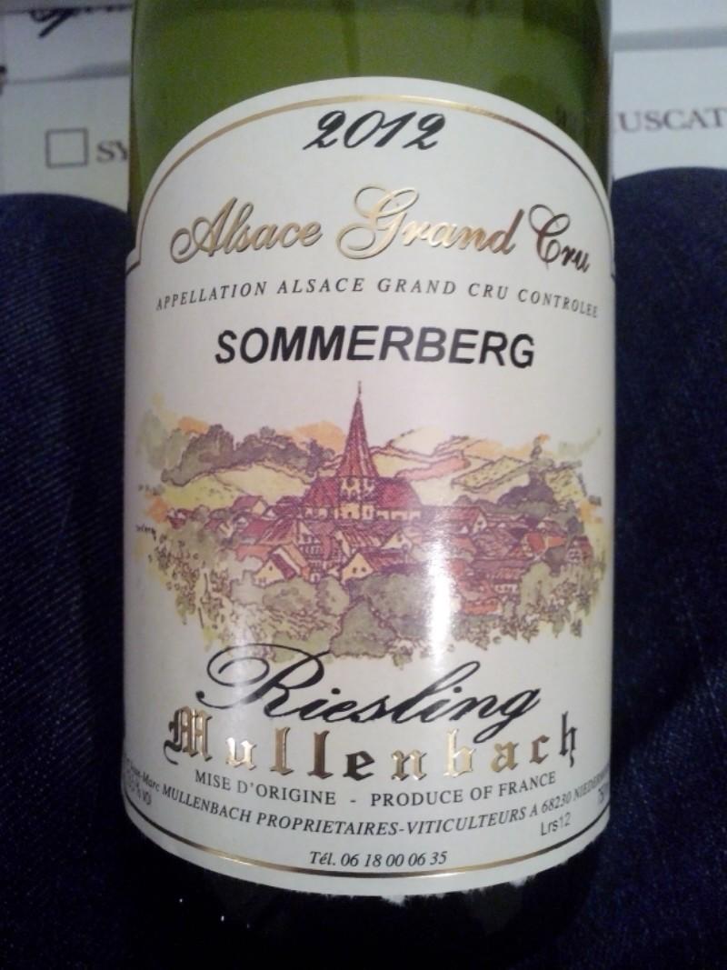 Alsace Grand Cru Sommerberg