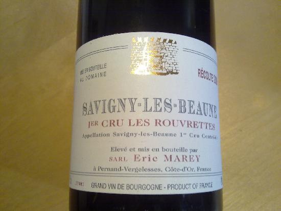 Savigny-lès-Beaune Premier Cru  Les Rouvrettes