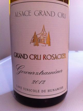 Alsace Grand Cru Rosacker