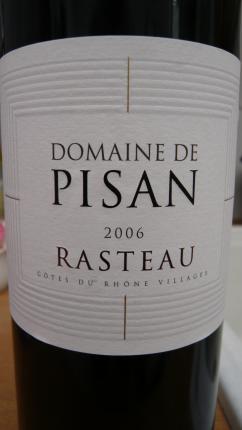 Côtes-du-Rhône-Villages Rasteau