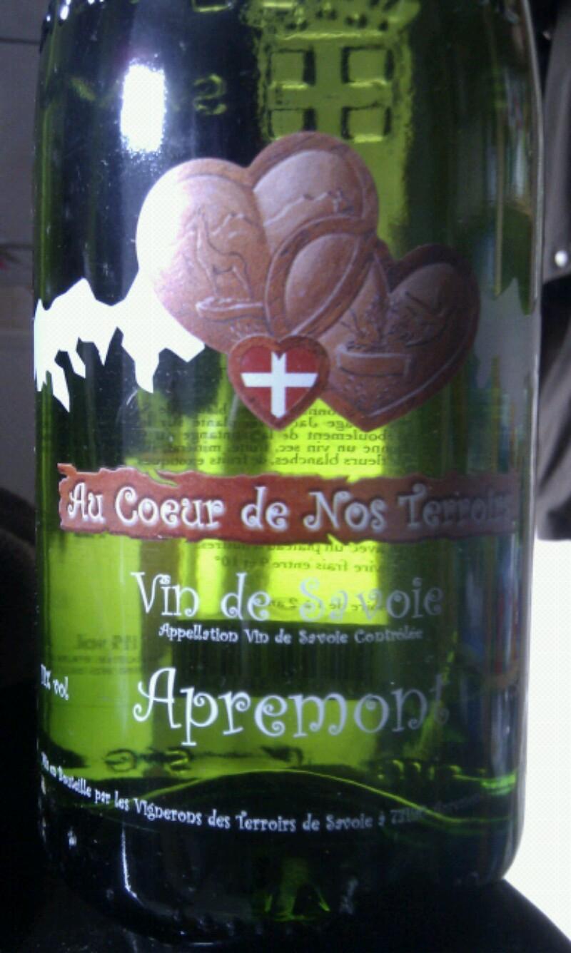 Vin-de-Savoie Apremont