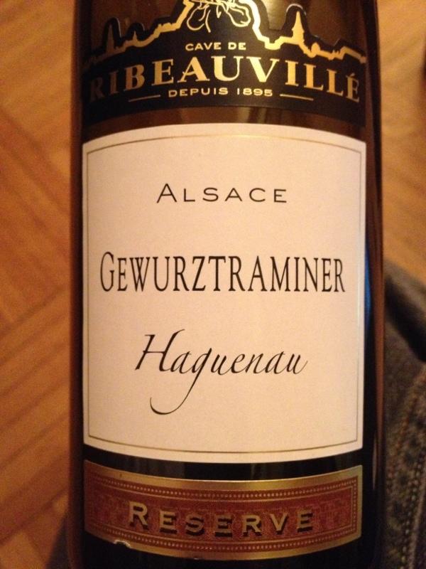 Alsace Gewurztraminer