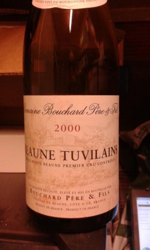 Beaune Premier Cru Les Tuvilains