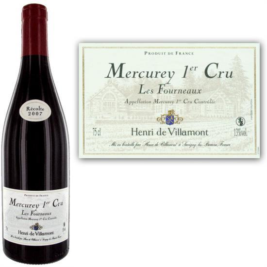 Mercurey Premier Cru  Les Fourneaux
