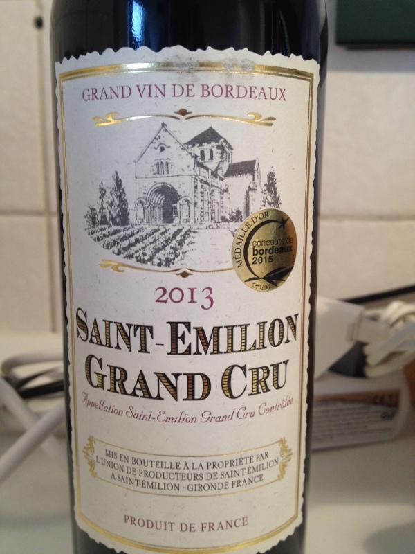 Caves Explorer Saint Emilion Grand Cru Union De
