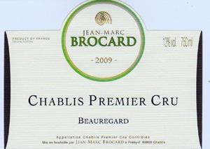 Chablis Premier Cru Les Beauregards