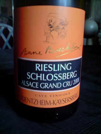 Alsace Grand Cru Schlossberg