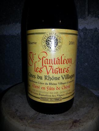 Côtes-du-Rhône-Villages Saint-Pantaléon-les-vignes
