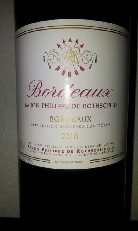 Caves Explorer - Bordeaux Baron Philippe de Rotschild ...
