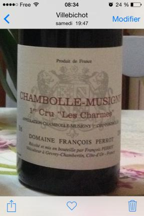 Chambolle-Musigny Premier Cru Les Chamres